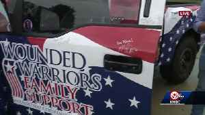 Special truck to honor, support disabled Veteran [Video]