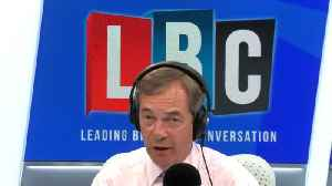 Nigel Farage Calls For Brexit Party To Take Part In EU Negotiations [Video]