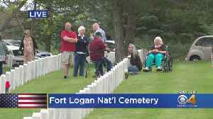 Generations Hold Memorial Day Traditions At Fort Logan National Cemetery [Video]