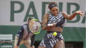News video: Serena Williams Wins French Open Round Wearing Virgil Abloh