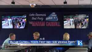 Madam Carroll hosts first Indy 500 viewing party [Video]