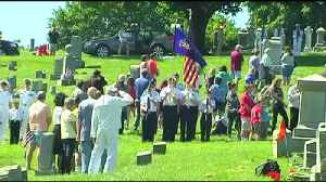 News video: VIDEO 21-gun salutes, playing of taps mark Memorial Day events across the area Monday