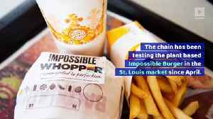 Burger King Sales Boosted 18% by Meatless 'Impossible Whopper' [Video]