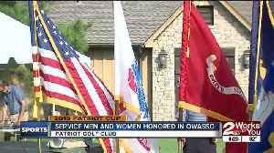 Service Men and Women Honored at Patriot Cup [Video]