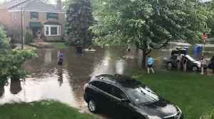 Severe Weather Warnings Issued for Chicago as Residents Report Flash Flooding [Video]