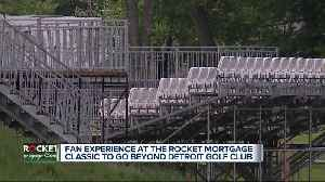 Fan experience at the Rocket Mortgage Classic to go beyond Detroit Golf Cluib [Video]