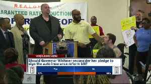 Community leaders oppose auto insurance bill [Video]