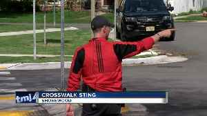 Undercover police target pedestrian safety in Shorewood [Video]