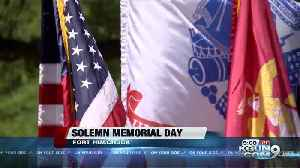 Memorial Day: Ft. Huachuca remembrance includes a long delayed medal [Video]