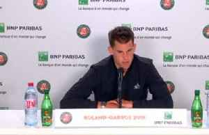 """Thiem says winning French Open will be """"very, very tough"""" [Video]"""