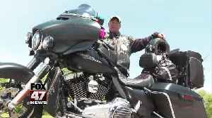 Veteran takes part in annual Run for the Wall motorcycle ride [Video]