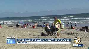 More sand for North County beachgoers [Video]