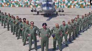 News video: IAF Chief leads 'Missing man' formation to honour Kargil martyrs