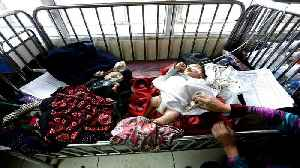 Afghanistan: Children share beds in poorly equipped hospital [Video]