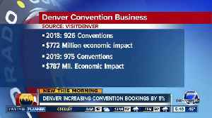 Convention bookings up 5% in Denver [Video]