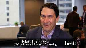 Industry On Track For Fully Deterministic Data Future: Matt Prohaska [Video]