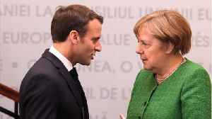Macron And Merkel Seek Common Ground On EU Commission [Video]