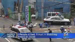 Japan Stabbing Attack Leaves 2 Dead, Multiple Injured [Video]
