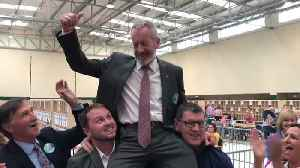 Sean Kelly elected for Ireland South in European elections [Video]