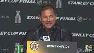Bruce Cassidy Says Torey Krug's 'Old School' Hit In Game 1 Gave Bruins A Nice Energy Boost [Video]