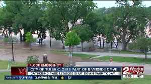 18 miles of trails and parks along Arkansas River closed due to flooding [Video]