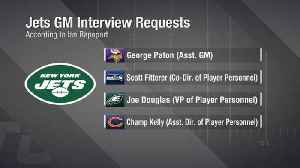 Mike Garafolo: New York Jets have four general manager targets, but two stand apart right now [Video]