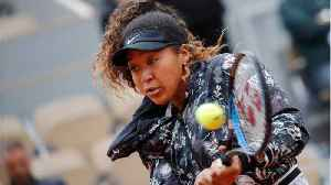 Naomi Osaka Rallies In First Round Of French Open [Video]