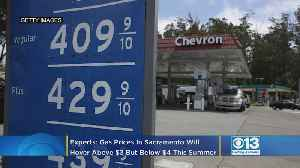Experts: Gas Prices In Sacramento Will Hover Above $3 But Below $4 This Summer [Video]