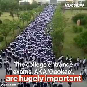 Chinese Schools Become Prisons During College Entrance Exams, But Some Students Still Dare to Cheat [Video]