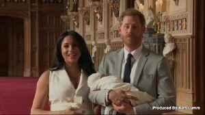 Prince Harry and Meghan Markle Find Being Parents to Baby Archie 'Sheer Delight' [Video]
