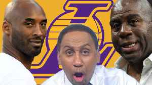 Lakers GM Rob Pelinka Caught LYING About Kobe Bryant & Magic Allegedly Was A BULLY As President! [Video]