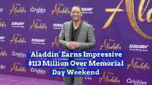 'Aladdin' Makes Serious Cash Over Memorial Day Weekend [Video]