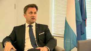 Luxembourg PM Xavier Bettel says European elections 'a wake up call' [Video]