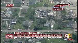 Tornadoes cause widespread damage near Dayton [Video]