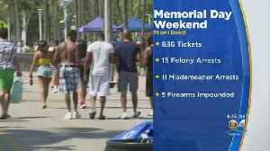 Memorial Day Enforcement In Miami Beach Helped By Effectiveness Of License Plate Readers [Video]
