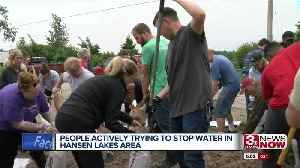 More Flooding at Hansen Lakes Area [Video]