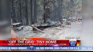 Interview with woman receiving off-the-grid tiny home [Video]