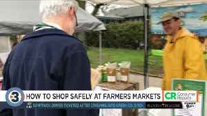 Consumer Reports: Don't get sick at the farmers' Market [Video]