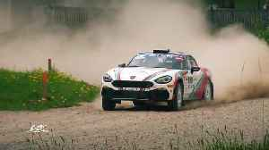Second round of Abarth Rally Cup - In Liepaja Rally success for the italian Andrea Nucita [Video]