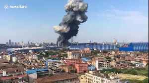 Factory in China explodes due to a gas leak killing 1 and injuring 9 [Video]