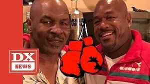 Wack 100 & Mike Tyson Get Into Apparent Fistfight During Podcast Taping [Video]
