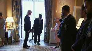 The Queen and Prince Harry meet cricket captains ahead of World Cup [Video]
