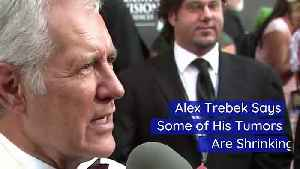 Alex Trebek Says Some of His Tumors Are Shrinking [Video]