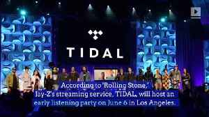 Jay-Z's TIDAL Hosting Listening Party for Prince's 'Originals' [Video]