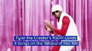 Tyler the Creator's 'IGOR' Lands 8 Songs on the 'Billboard' Hot 100 [Video]