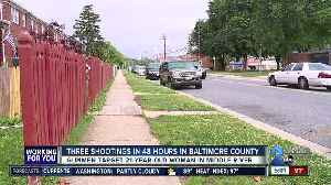 Three shootings in 48 hours in Baltimore County [Video]