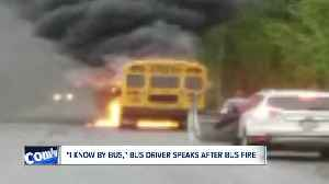 """""""Everybody grab your stuff and get off the bus now,"""" 'hero' bus driver speaks following bus fire [Video]"""