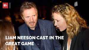 Liam Neeson Is Attached To 'The Great Game' [Video]