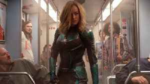 'Avengers: Endgame' Pics Show Captain Marvel's Original Costume [Video]
