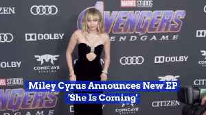 Miley Cyrus Has New Music Incoming [Video]